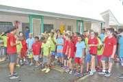 L'association sportive du collège  a fait sa fête malgré la pluie