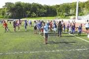 Les écoliers de Wé ont participé  à une grande fête du sport à Hnassé