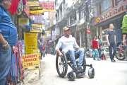 Un paraplégique à la conquête de l'Everest