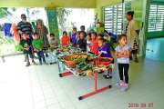 Les écoles de Coula-Gondé  ont fêté le taro