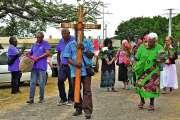 La croix de Mahamate fait escale à Koumac