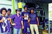 Des lycéens de Houaïlou en visite au centre de tri