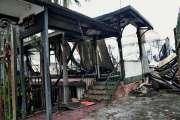 L'ancien magasin Animal Passion incendié