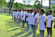 La classe Défense du collège Djiet  a fait sa rentrée au camp de Nandaï