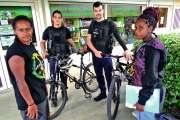 Les gendarmes patrouillent à VTT
