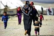 Retrouvailles entre une grand-mère et ses petits-enfants en Syrie