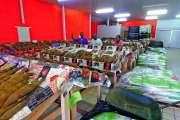 Un marché de Pâques bien fréquenté