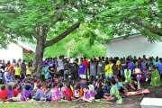 Le Vendredi saint célébré à Baganda