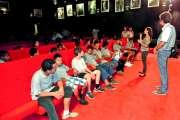 Les collégiens découvrent des courts-métrages locaux