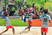 Les Cagous prêts à relancer le beach calédonien dans le Pacifique