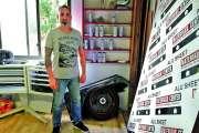 Christophe Marques, l'intervenant en art le plus connu du Dock socioculturel
