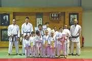 Passage de grades au Shotokan karaté club
