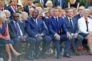 L'appel de Macron à honorer les héros africains