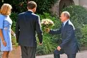 Macron veut rapprocher Moscou et l'Europe