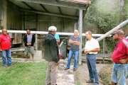Claude Cochonneau a visité l'usine de café