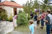 Ils découvrent les maisons coloniales du Faubourg