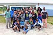 Les musiciens de Hnaizianu au centre culturel Tjibaou
