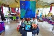 Le Salon des créateurs  est aujourd'hui à Luecila