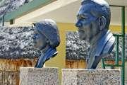Inauguration des bustes de Scholastique et Rock Pidjot