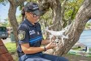 La police municipale peut compter sur ses drones pour surveiller les baies