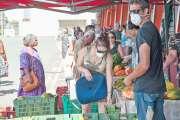 Le marché Broussard s'est tenu dans un format inhabituel, samedi matin
