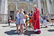 Le parvis de Notre-Dame de nouveau ouvert