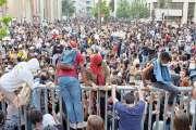 Incidents en marge d'une manifestation en souvenir d'Adama Traoré à Paris
