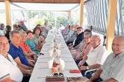 Les seniors de l'Âge d'or se retrouvent autour d'un repas