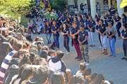 Un flash mob a lancé la Journée pour le climat