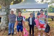 Lacheny s'offre un premier podium en Métropole