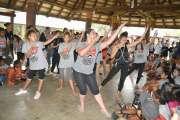 La journée cohésion du Total sport girl challenge perturbée par la pluie