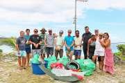 Le club Akawan Lifou a nettoyé la baie de Chateaubriand