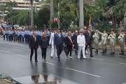 500 personnes défilent à Nouméa pour le 14 juillet