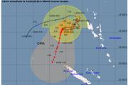 Oma pourrait devenir un cyclone avant de s'approcher du Nord