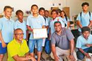 Les collégiens de Sainte-Marie récompensés par Trecodec
