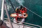 Un wakesurfeur secouru par les Sauveteurs en mer