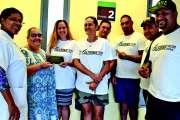Le Calédonie Tattoo Festival fait un don au Médipôle