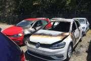 Cinq voitures incendiées, six autres dégradées à Magenta