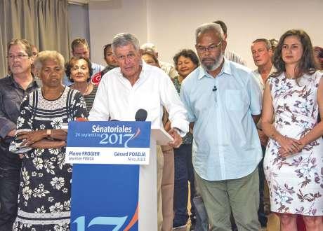 Gérard Poadja et Pierre Frogier élus sénateurs (officiel)