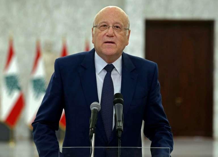 Crise au Liban: Mikati entame ses réunions pour former un nouveau gouvernement