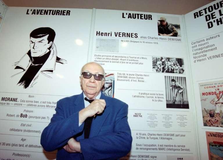 Henri Vernes, mort du père de l'aventurier Bob Morane