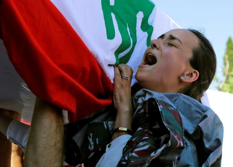 Au Liban, rage et douleur pour le 1er anniversaire de l'explosion au port