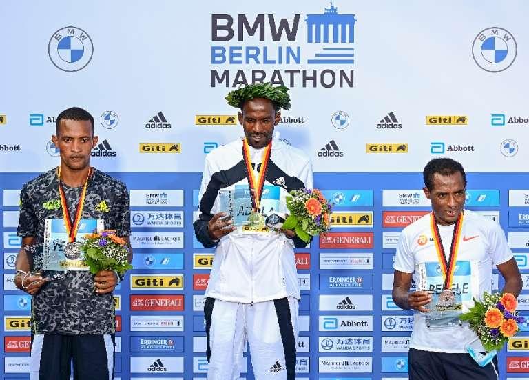 Marathon de Berlin: Bekele battu, son compatriote Adola vainqueur
