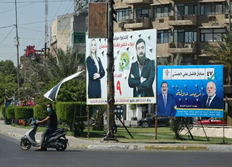A Bagdad avant les législatives, indifférence et désillusion