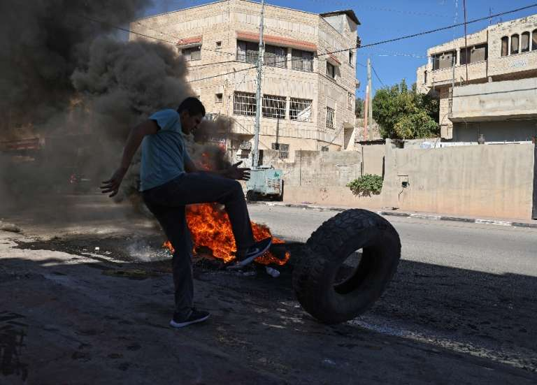 Cisjordanie: quatre Palestiniens tués durant une opération israélienne
