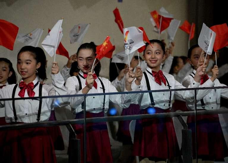 JO-2022: Pékin à 100 jours des Jeux, l'ombre des droits de l'Homme et du Covid