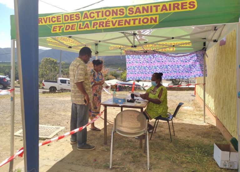 Quarante-sept vaccinés à Canala jeudi