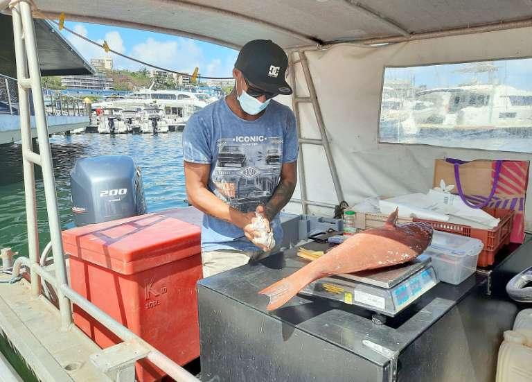 Port-Moselle: du poisson à vendre, en petites quantités