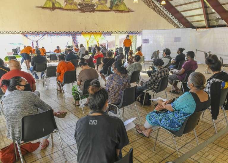 Plus de 400 personnes se sont rendues au Proxi Vax du Foyer wallisien, samedi