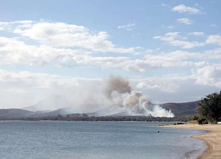 Des incendies en série pendant le week-end